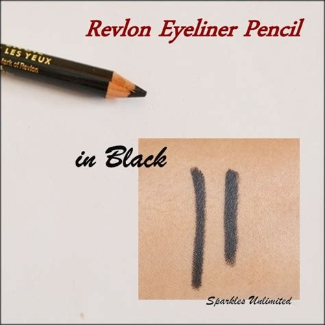 Eyeliner Pencil Revlon revlon eyeliner pencil in black review swatches pics