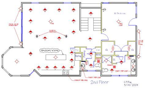 floor plan with electrical layout new house plans