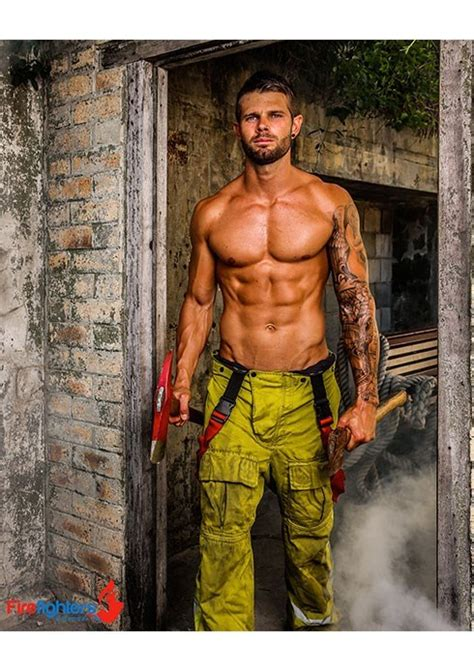 Firefighter Calendar 2015 Aussie Firefighters Set Us On W Steamy 2015 Calendar