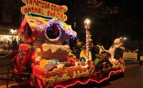 new year parade float display and fireworks ballston spa parade and tree lighting friday