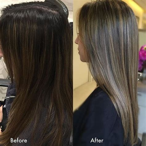 highlights to hide grey in darker hair 25 best ideas about cover gray hair on pinterest gray
