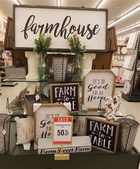 farmhousedecor athobbylobby home decor