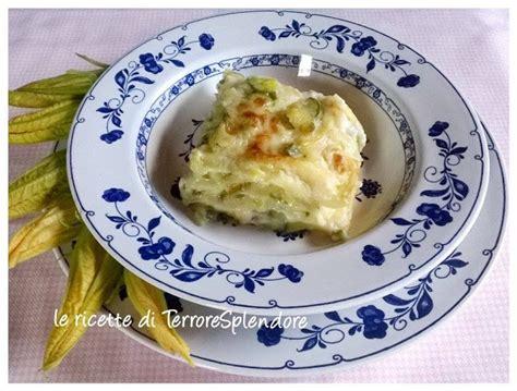 lasagne con fiori di zucca le ricette di terroresplendore lasagne con zucchine e