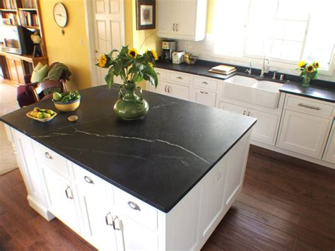 Black Soapstone Countertop interior with soapstone application mirrors classical appeal in modern look homesfeed