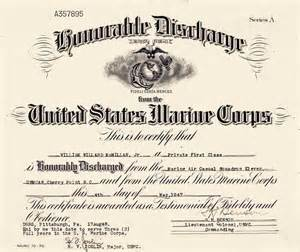 honorable discharge certificate template honorable discharge certificate