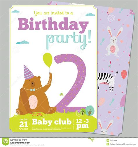 celebration card template birthday invitation card template with stock