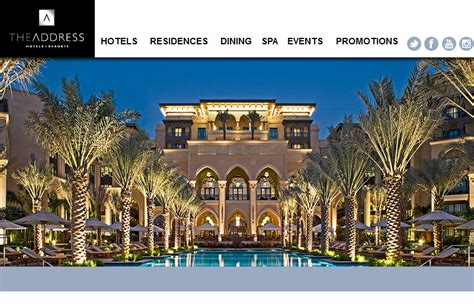 Search Hotel By Address The Address Hotels Resorts