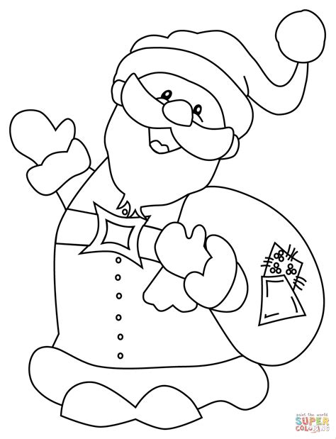 santa claus coloring pages santa claus coloring page free printable coloring pages
