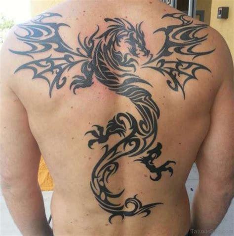 tribal dragon back tattoo 77 graceful tattoos for back