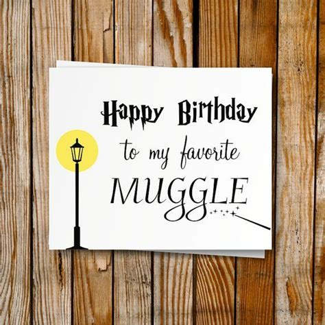 harry potter birthday card printable diy birthday