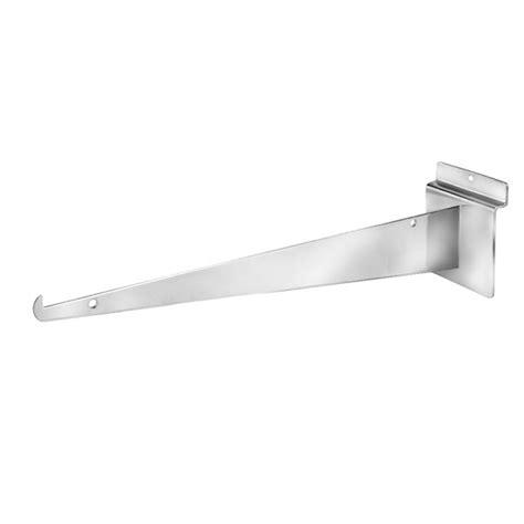 Slatwall Shelf Brackets by 14 Quot Slatwall Shelf Brackets Knife Edge Brackets Creative Store Solutions