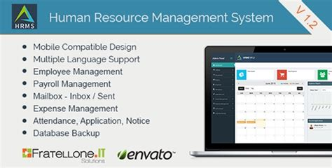 templates for hrms website codecanyon human resource management system hrms v1 2
