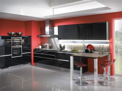 red and black kitchen ideas 55 modern kitchen design ideas that will make dining a delight