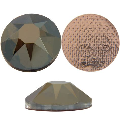 Bronze L Shades by Swarovski 2078 Xirius Hotfix Bronze Shade