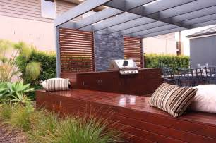 Aussie Patio Designs Aussie Bbq Deck And Dining Area Contemporary Patio Other Metro By Ecodesign Pty Ltd
