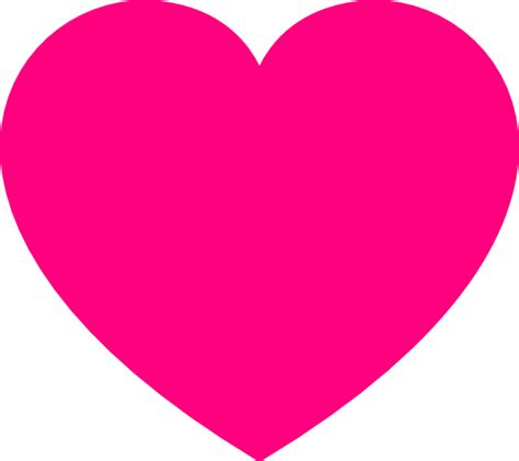pink hearts pink heart2 clip at clker vector clip