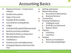 Print Journalism Course Outline by On Basic Accounting Using Adempiere