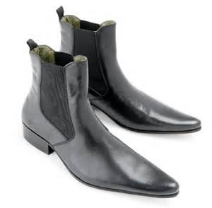 beat boots ikon originals revolver chelsea beat boot leather black