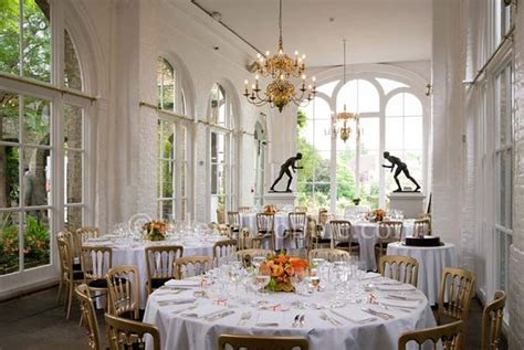 Dining Room Round Table orangery gallery in holland park wedding venue holland