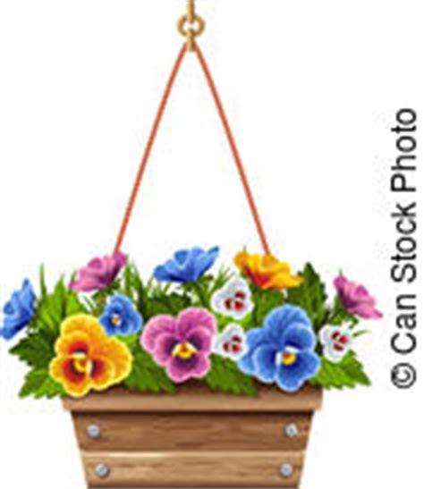 viole pensiero in vaso vasi fiori immagini di archivi di illustrazioni 3 383