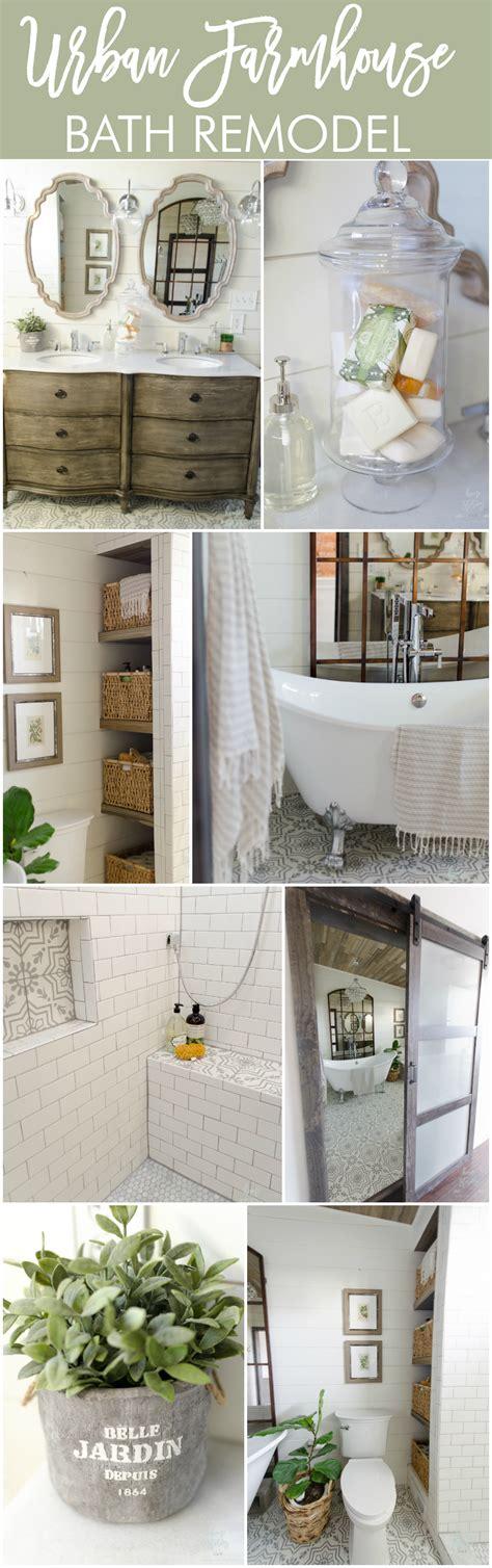 farmhouse master bathroom beautiful farmhouse master bathroom remodel