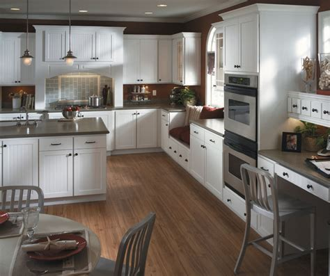 White Beadboard Kitchen Cabinets by White Beadboard Kitchen Cabinets Homecrest