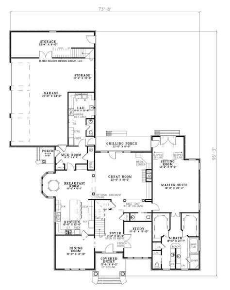 nelson design group home plans majestic house plan design tall arched entry with