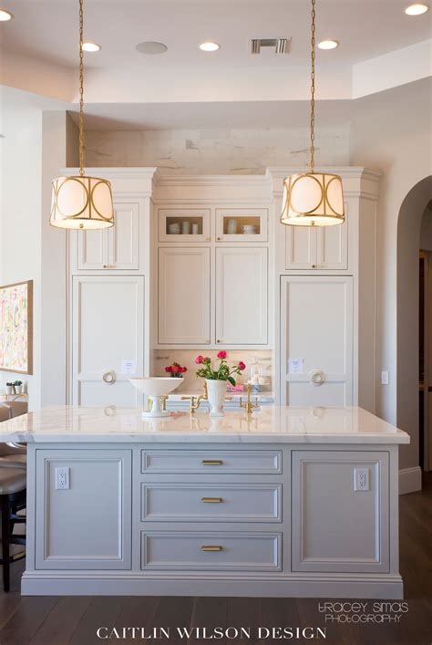 white cabinets with gold hardware street of dreams kitchens hardware and island design