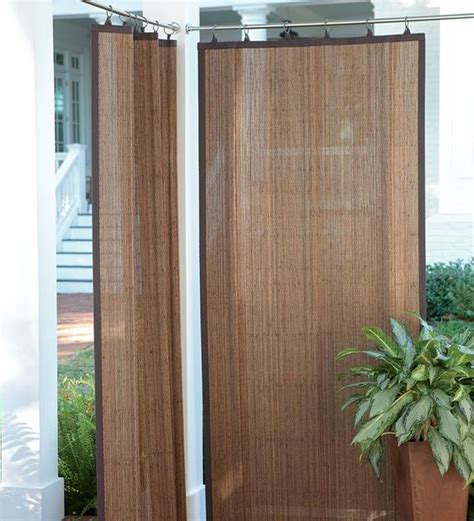 screen drapes for outdoor create shade and privacy outdoors with these water