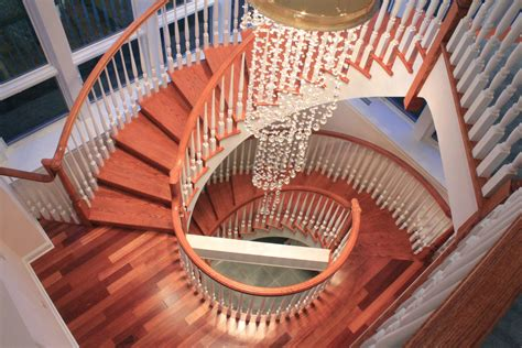 big white staircase beautiful wooden floors high 40 breathtaking spiral staircases to dream about having in
