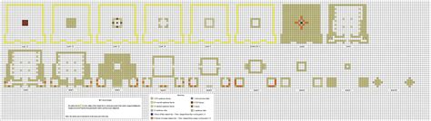Minecraft House Blueprints Layer By Layer by Desert Temple By Coltcoyote On Deviantart