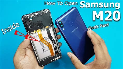 how to open samsung galaxy m20 back panel samsung galaxy m20 disassembly teardown
