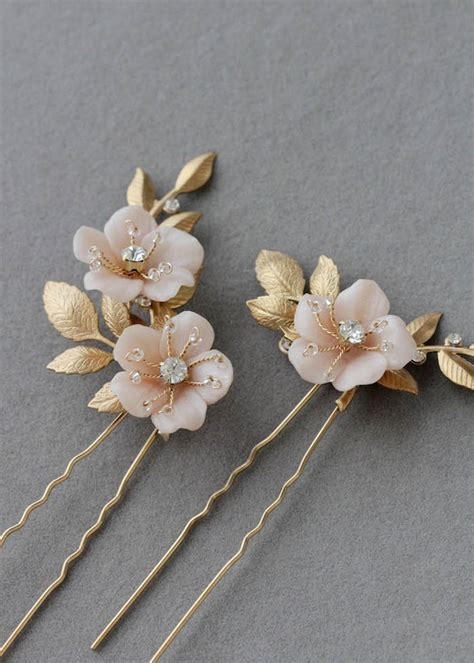 Wedding Hair Cocoa by Flower Hair Pins Flowers Ideas For Review