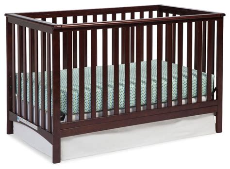Modern Convertible Crib Storkcraft Manufacturing Inc Storkcraft Hillcrest 3 In 1 Convertible Crib Cribs Houzz