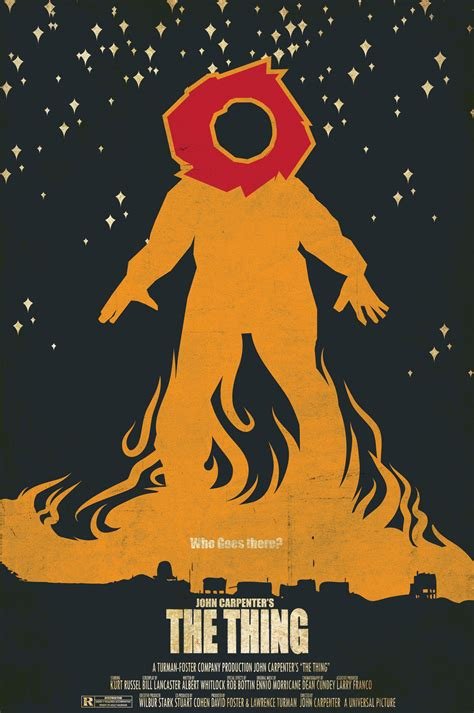 the thing minimalist poster posters jmklatte design