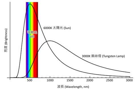 Tungsten Halogen L Wavelength Range the optical basics of spectroscopy