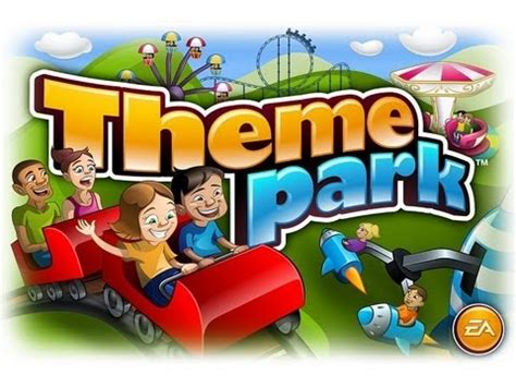 theme park game online theme park ipad 2 hd gameplay trailer youtube