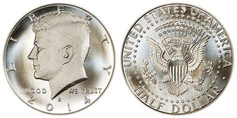 composition of dollar coin 2014 s kennedy half dollars silver enhanced uncirculated