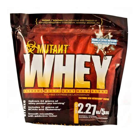 Whey Protein Mutant mutant whey protein sprint fit nz