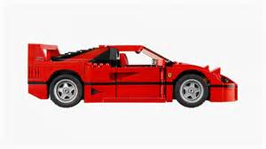 iconic f40 now available in lego form evo