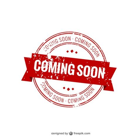 template photoshop stempel coming soon st vector free download