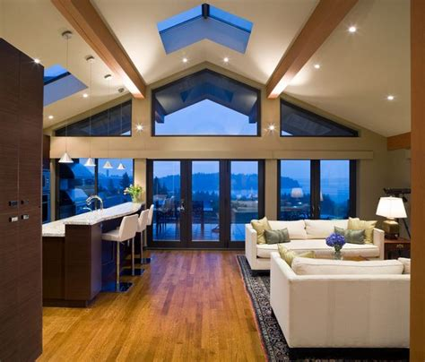Vaulted Ceilings 101 History Pros Cons And Living Room Vaulted Ceiling