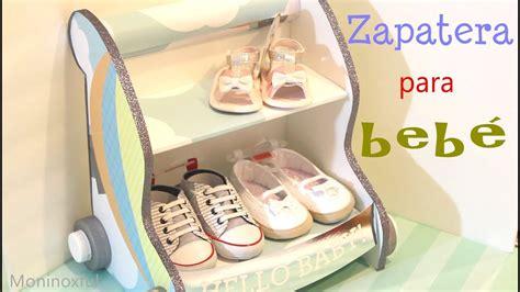 accesorios de cuna para bebe c 243 mo hacer una zapatera para beb 233 en forma de carrito