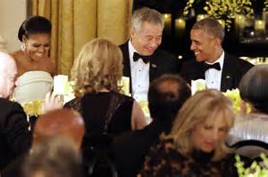 lets talk about lee hsien loong and ho ching marriage archive state dinner celebrates 50 years of us singapore relations