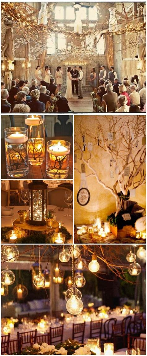 17 best ideas about winter wedding decorations on fall wedding centerpieces