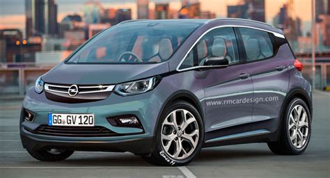 opel s answer to the bmw i3 imagined as a rebadged chevy bolt