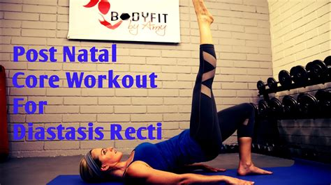 8 minute diastasis recti workout for ab separation after pregnancy