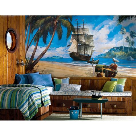 pirate wall murals pirate room decor ideas