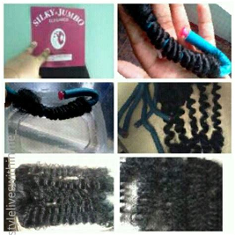 how to roll hair with jumbo flexi rods curling synthetic hair with flexi rods step by step