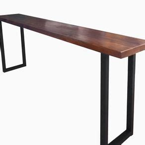how high should a sofa table be custom sofa and console tables artisan designed and